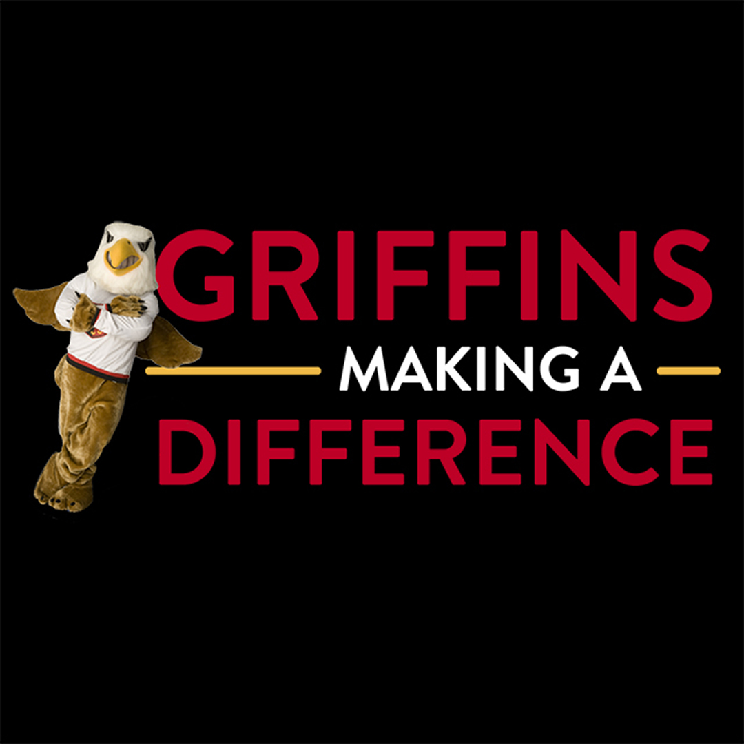 Griffins Making a Difference Logo